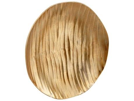 Cyan Design Heat Wave Gold Medium Tray