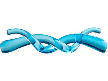 Cyan Design Helix Blue Sculpture