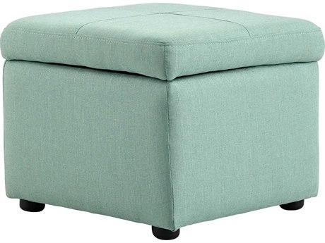 Cyan Design Huffington Green Ottoman C308346