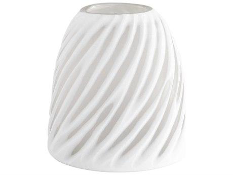 Cyan Design Modernista White & Clear Small Vase C308615