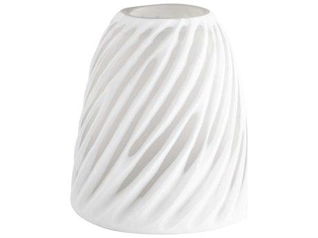 Cyan Design Modernista White & Clear Medium Vase C308616