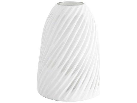 Cyan Design Modernista White & Clear Large Vase C308617