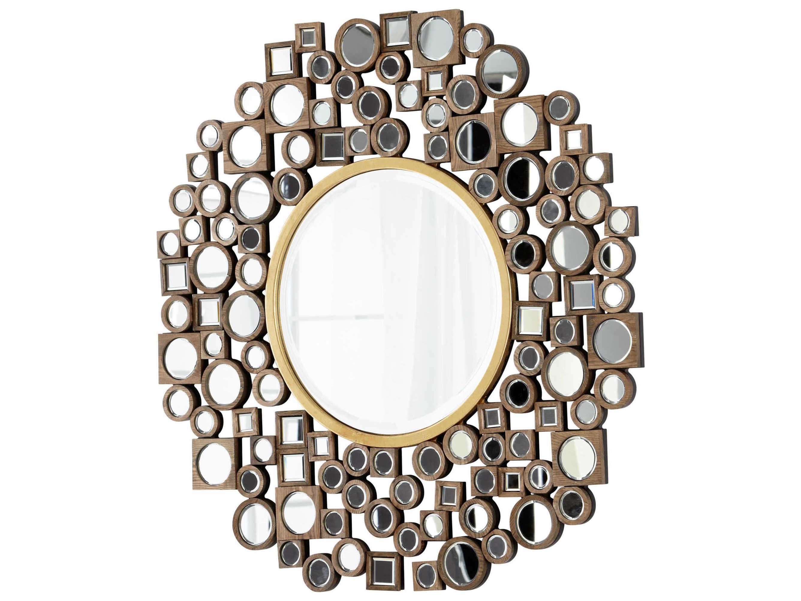 Cyan Design Jorn 48 X 48 Gold Wall Mirror