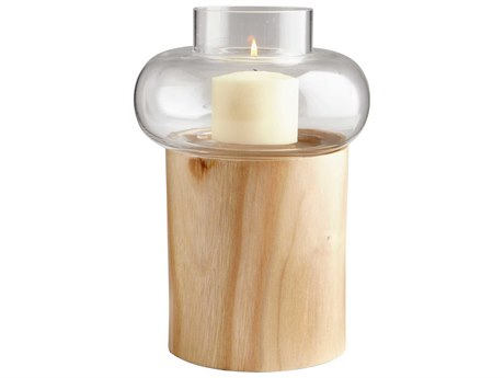 Cyan Design Kalliope Oak Candle Holder C306477
