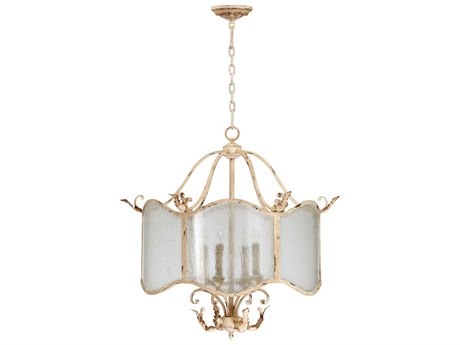 Cyan Design Maison Persian White Four-Light 28'' Wide Chandelier C304634