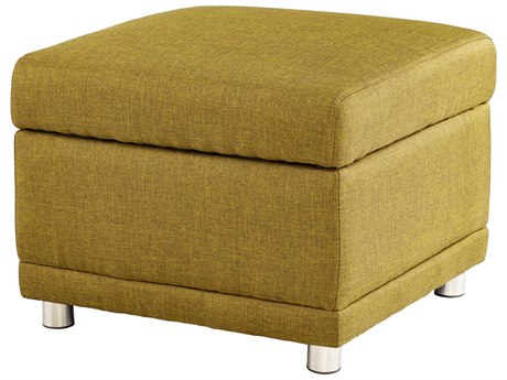 Cyan Design Maro Green Ottoman C307372