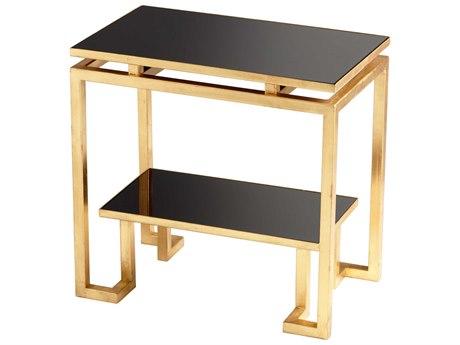 Cyan Design 23 x 14.25 Rectangular Midas End Table C306270