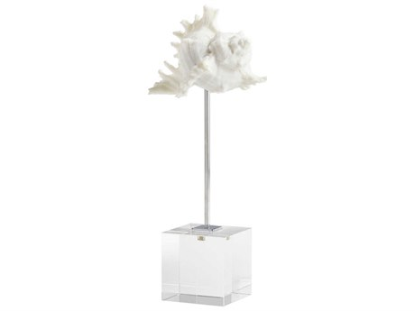 Cyan Design Murexiella White and Polished Nickel Sculpture