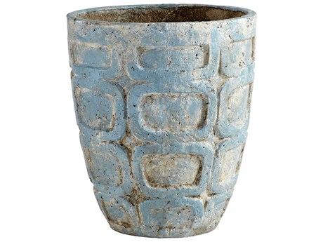 Cyan Design Naples Antique Blue Medium Planter C309612