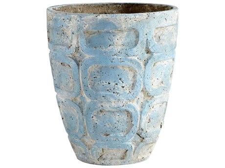 Cyan Design Naples Antique Blue Large Planter C309613