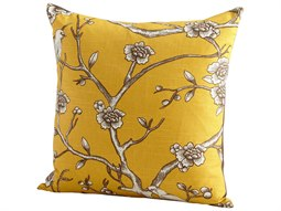 Yellow Nature Lover Pillow