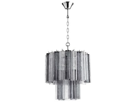 Cyan Design Night And Day Clear Smoked Glass Mini Chandelier C305943