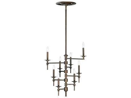 Cyan Design Omega Oiled Bronze Eight-Light 30'' Wide Chandelier C304186