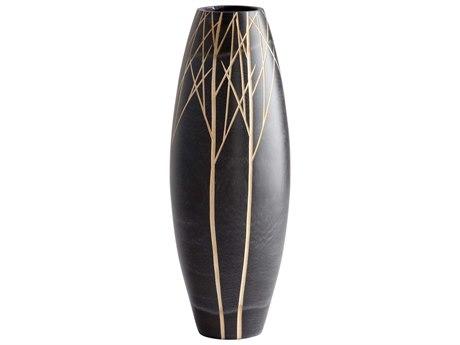 Cyan Design Onyx Winter Black Vase C306024