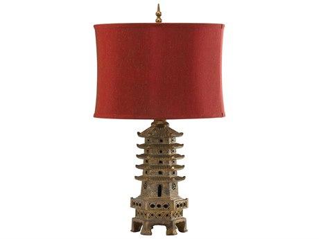 Cyan Design Pagoda Antique Gold Table Lamp C302575