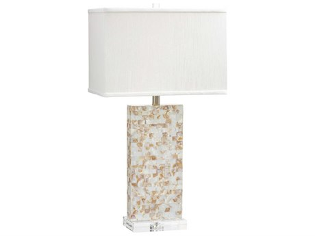Cyan Design Palm Mother of Pearl Buffet Lamp (with CFL) C3066081