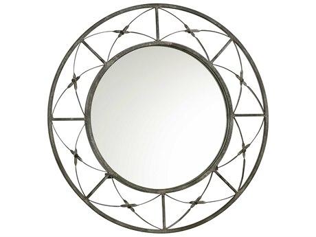 Cyan Design Parker 24 x 24 Rustic Gray Wall Mirror C304285