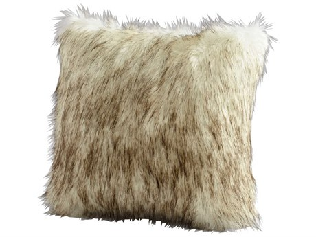 Cyan Design Grey Prairie Wolf Pillow C306539