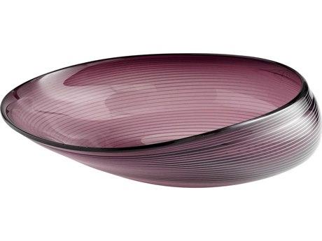 Cyan Design Large Purple Oyster Bowl C305860