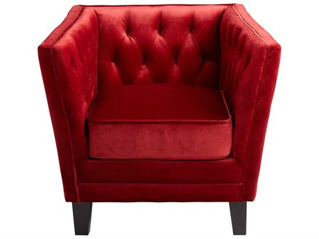 Cyan Design Red Prince Valiant Accent Chair C306324