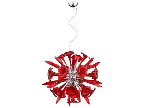 Cyan Design Red 12-Light Remy Pendant C306595