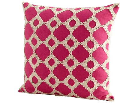 Cyan Design Pink Repeat After Me Pillow C306505