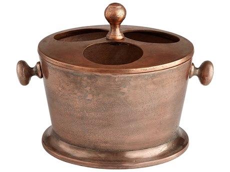 Cyan Design Robust Old Vintage Copper Wine Rack C307525