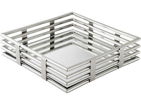 Cyan Design Stainless Steel Square Layers of Meaning Tray C308266