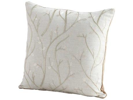 Cyan Design Silver Stem The Flow Pillow C306534