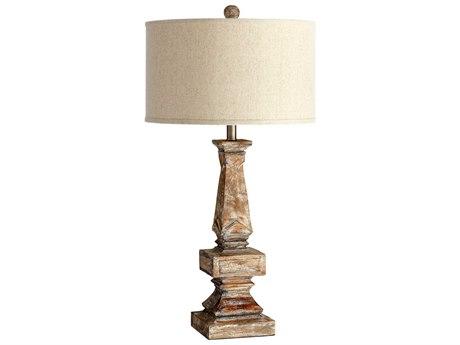 Cyan Design Tashi Parsons White Table Lamp C305248