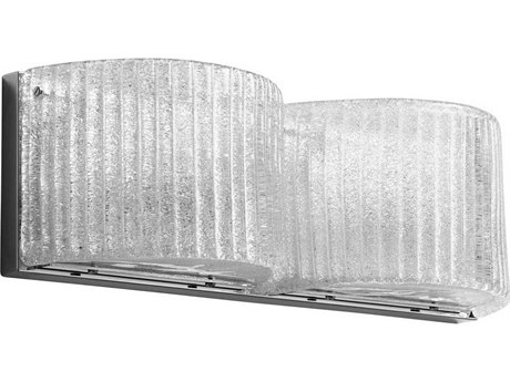 Cyan Design Glacial Drift Chrome Two-Light Vanity Light C38845