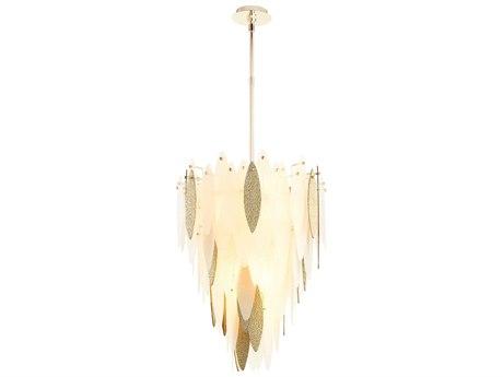 Cyan Design Vega Satin Gold Seven-Light 22'' Wide Pendant Light C308550
