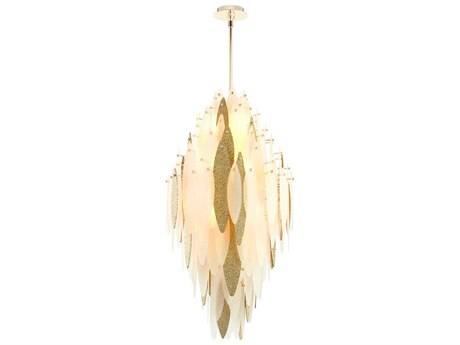 Cyan Design Vega Satin Gold Ten-Light 21'' Wide Pendant Light C308551