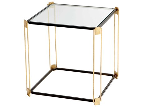 Cyan Design Velasco Gold Leaf and Bronze 21.5'' Square End Table