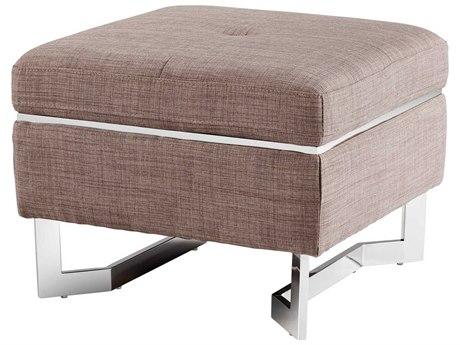 Cyan Design Vidal Grey Ottoman C307374