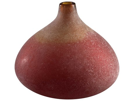 Cyan Design Small Vizio Yellow & Orange Vase