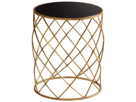 Cyan Design 16.75 Round Wimbley Drum Table