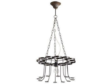 Cyan Design Winey Bronze Mini 17'' Wide Chandelier C305095