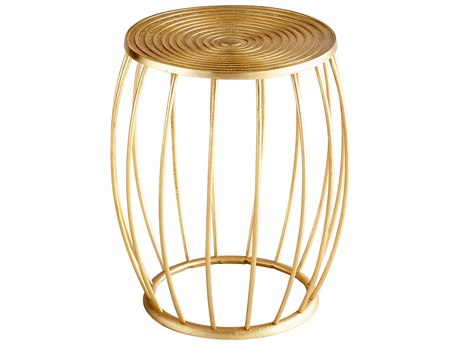 Cyan Design Zodiac Gold Accent Stool C308071