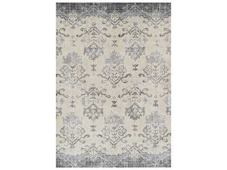 Dalyn Antigua Pewter Rectangular Area Rug DLAN11PEWTER