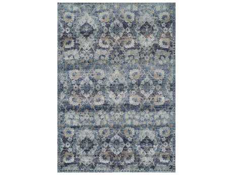 Dalyn Antigua Navy Rectangular Area Rug DLAN5NAVY