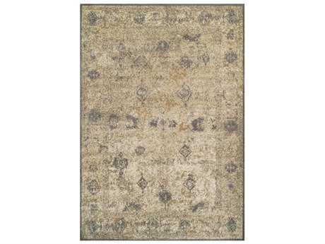 Dalyn Antiquity Rectangular Ivory & Gray Area Rug
