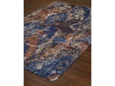 Dalyn Arturro Blue Rectangular Area Rug DLAT5MULTI