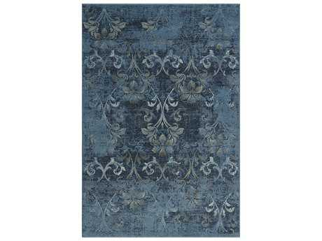Dalyn Beckham Rectangular Sky Blue Area Rug DLBC1244SKYBLUE