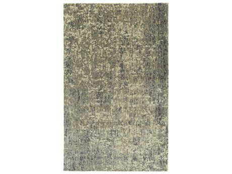 Dalyn Galli Glacier / Ivory Charcoal Silver Gold Rectangular Area Rug