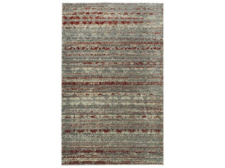Dalyn Galli Gunmetal / Grey Silver Charcoal Taupe Ivory Copper Rectangular Area Rug