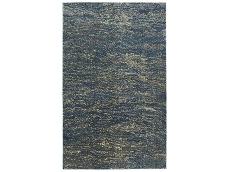 Dalyn Galli Baltic / Turquoise Sky Blue Ivory Taupe Silver Rectangular Area Rug