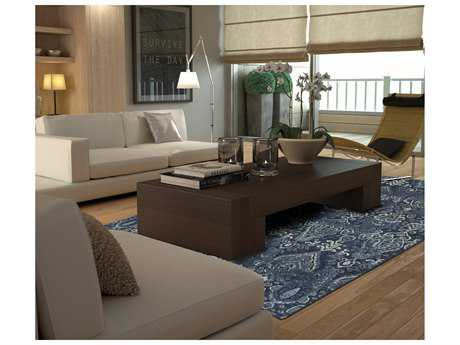 Dalyn Rugs Geneva Navy Rectangular Area Rug DLGV315NAVY