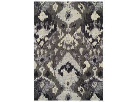 Dalyn Modern Greys Rectangular Pewter Area Rug DLMG525PEWTER