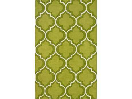 Dalyn Infinity Rectangular Lime Area Rug DLIF3LIME